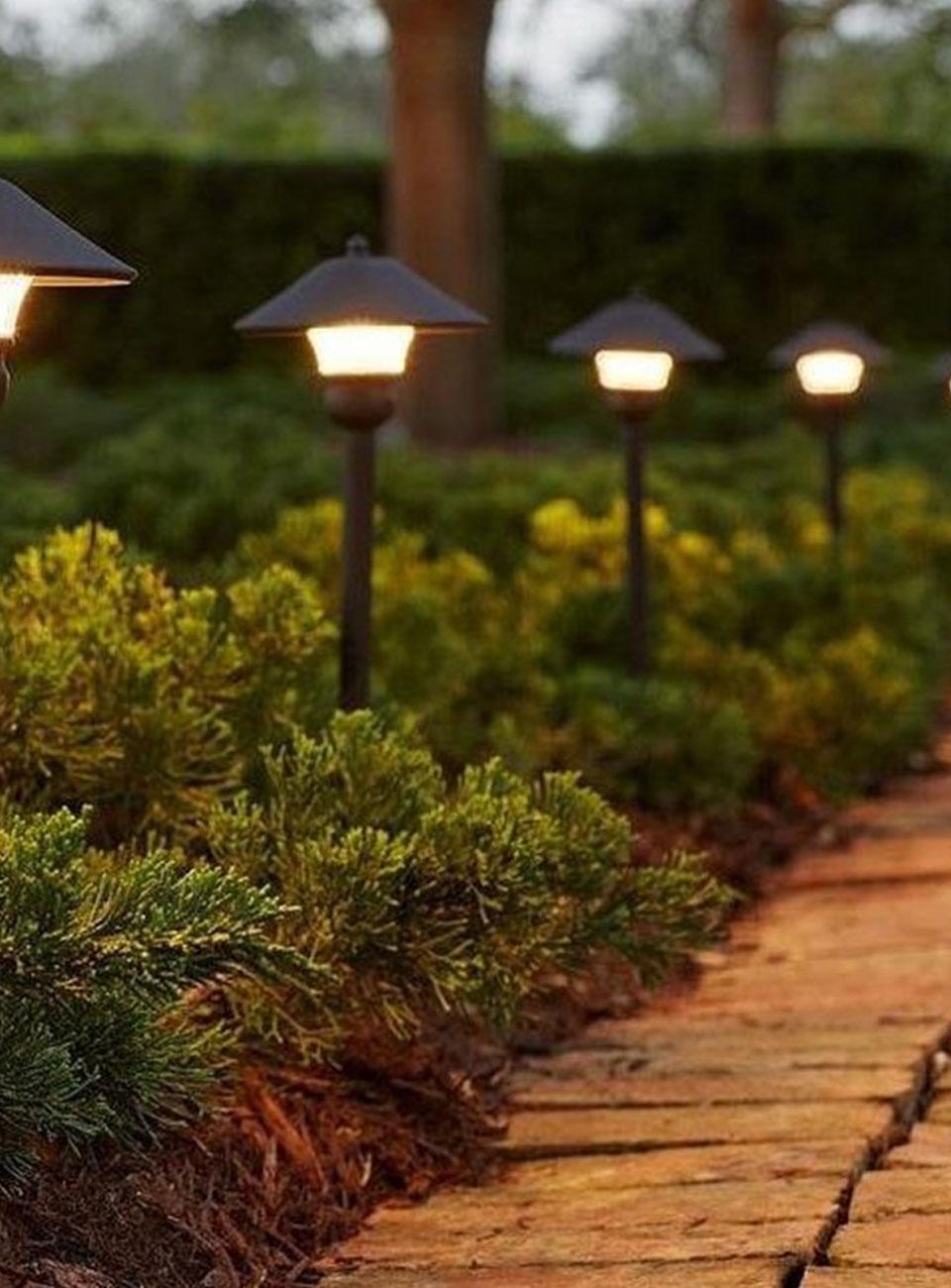 electricians for outdoor lighting in urmston